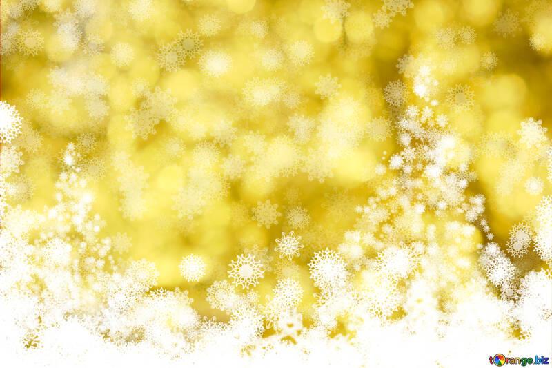 Hermosas imágenes prediseñadas para el fondo del árbol de Navidad oro №40676
