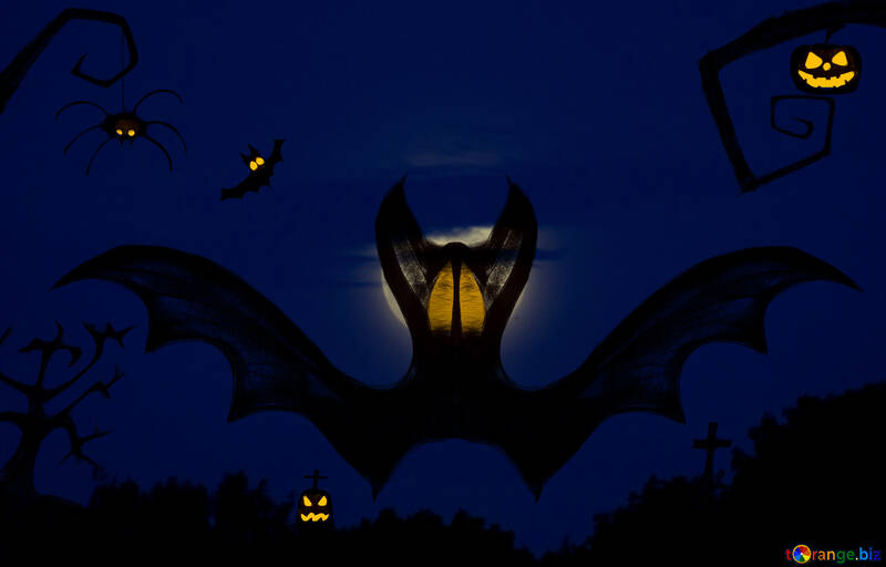 Halloween wallpaper for desktop №40467