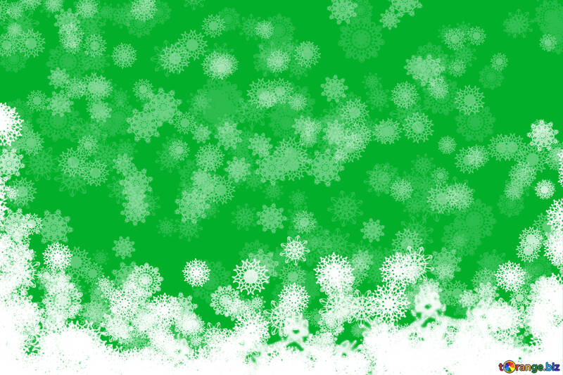 Clipart background new year Green №40677