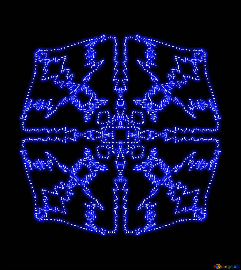 Ornamento geométrico patrón cósmico patrón № 40218