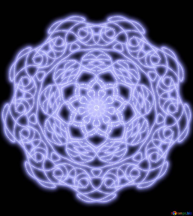 Beautiful pattern ornament №40571