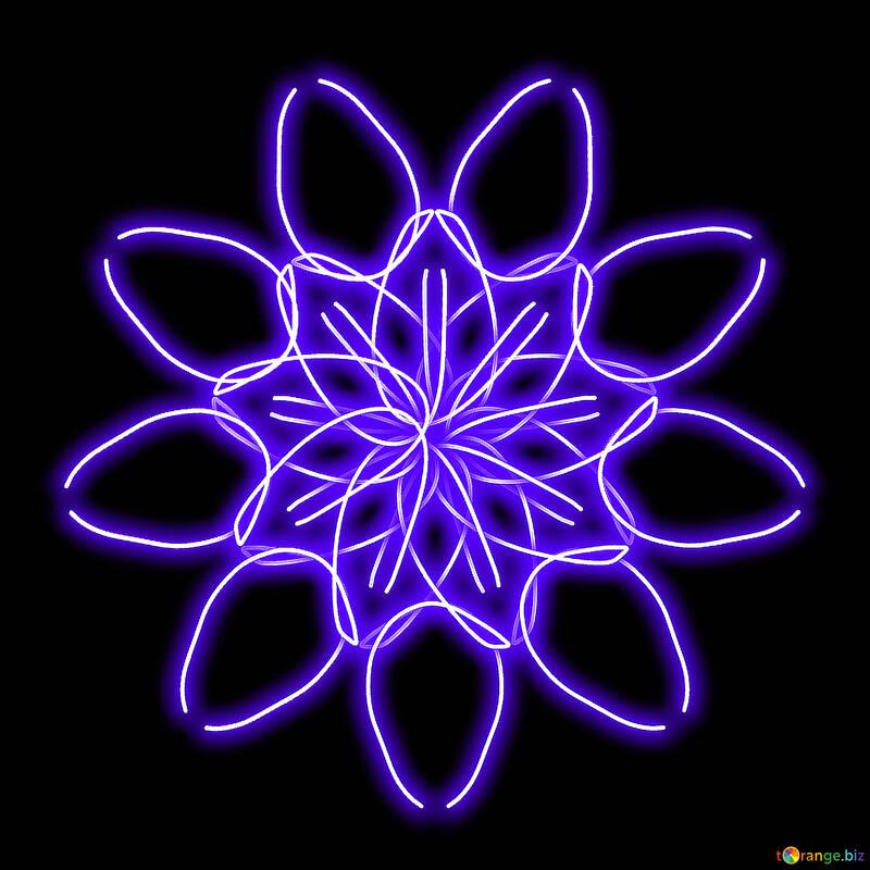 Computer flower ornament №40042
