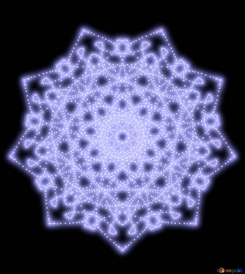 Star motif №40542