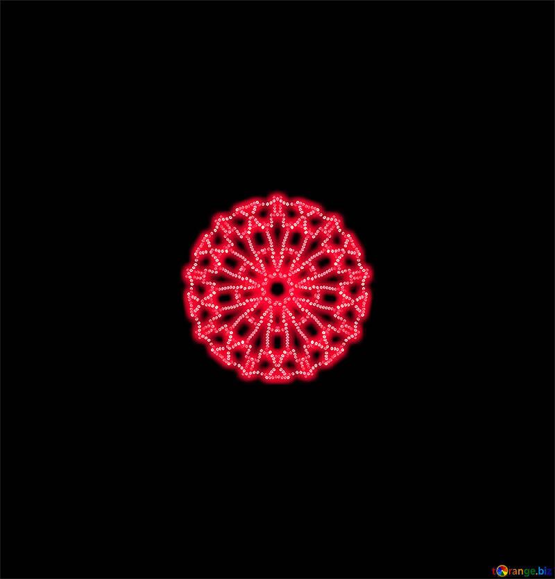 Lace motif №40380