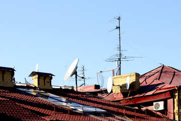Antennas on the roof №41444
