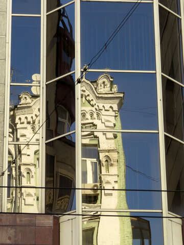Reflection of the old architecture №41263