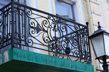 Wrought balconies №41555