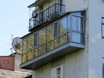Illegal balcony №41196