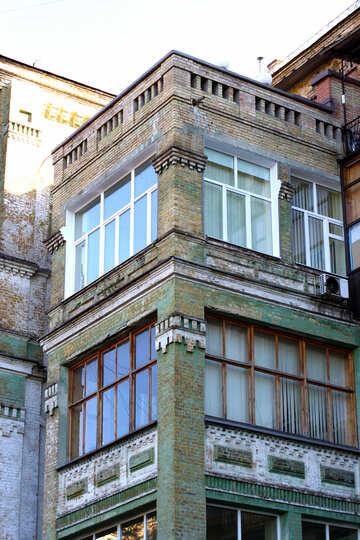 Large, bright balcony №41744