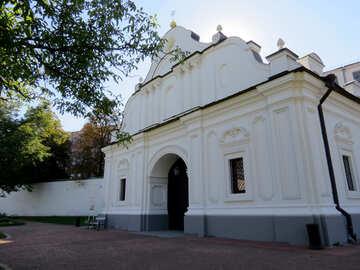 Church white building №41182