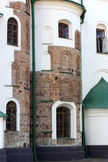 The old facade of the church №41864