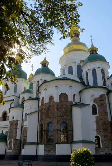 Domes of St. Sophia Cathedral  №41131