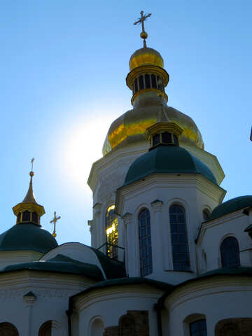 Domes of St. Sophia Cathedral  №41133