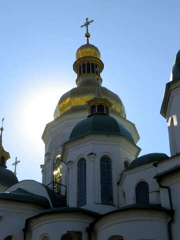 Domes of St. Sophia Cathedral  №41134