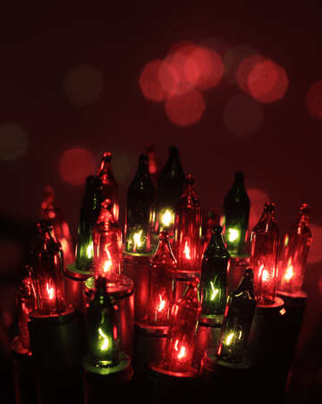 Beautiful Christmas Garland №41289