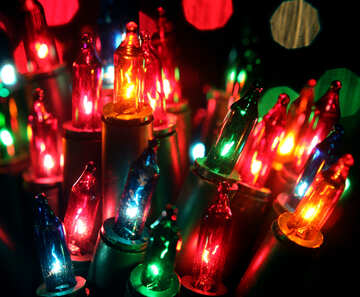 Christmas Garland lights №41302
