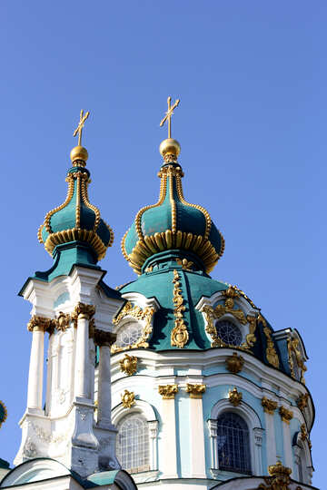The dome of St. Andrew`s Church №41423
