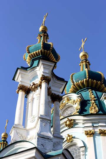 Kuppeln der St.-Andreas-Kirche №41426