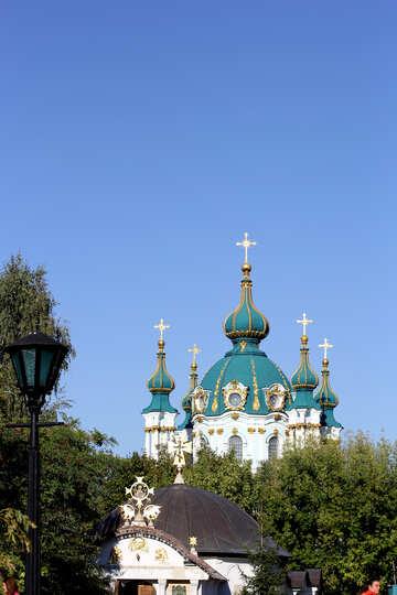 St.-Andreas-Kirche in Kiew №41795