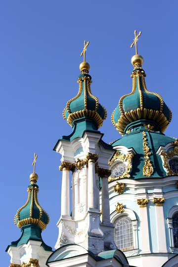 Chiesa di Sant`Andrea a Kiev punto di riferimento №41422