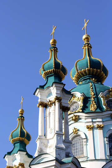 St.-Andreas-Kirche in Kiew Wahrzeichen №41422