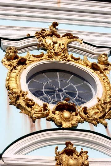 Das runde Fenster in der Kirche №41441