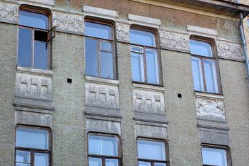 Gray facade №41688
