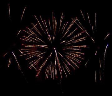 Huge fireworks №41347