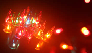 Colored light bulbs №41280