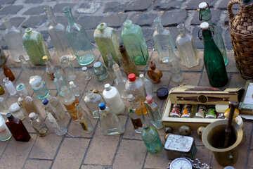 Vintage-Flaschen №41588