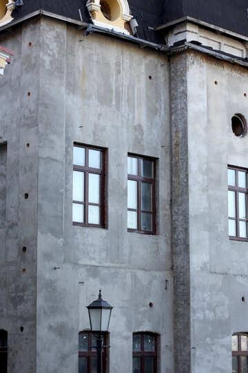 Concrete monolith house №41551
