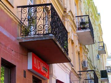 Old balconies №41007