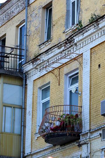 Round balcony №41697