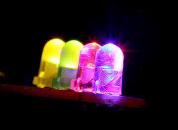 Multi-colored LEDs №41399