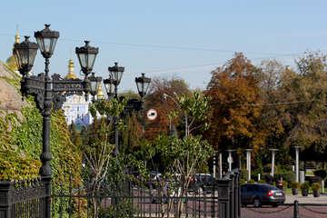Vintage lights on the street №41845