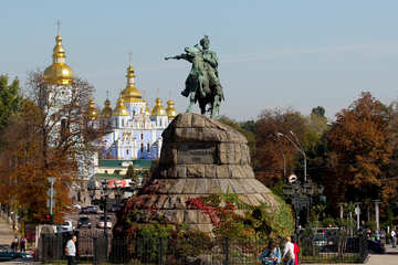 The monument to Bohdan Khmelnitsky in Kiev №41824