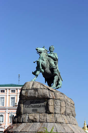 The monument to Bohdan Khmelnitsky in Kiev №41843