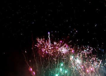 Bright fireworks №41369