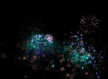 Colorful fireworks №41366