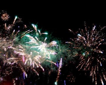 Festive fireworks №41360