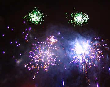Fireworks in the sky №41351