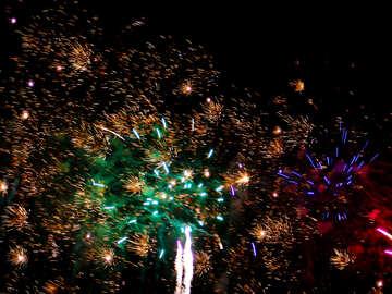 Large fireworks №41336