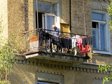 Old balcony №41169