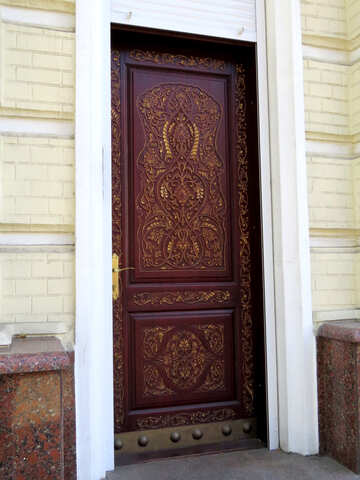 Decorated door №41249