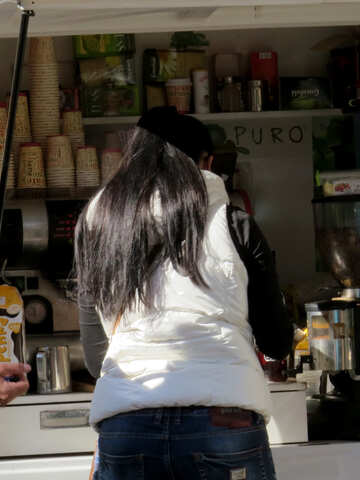 She buys food street №41030