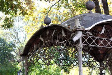 Metal roof in the gazebo №41981