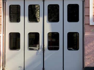 Folding doors №41243