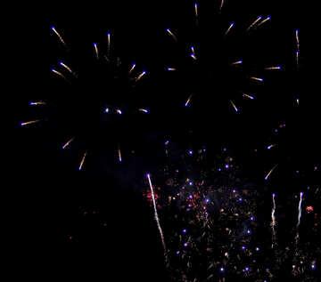 Fireworks in the sky №41354