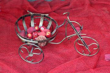 Decorative bike №41674