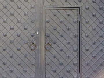 Текстура кованые ворота №41189